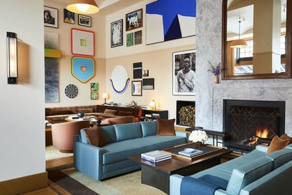 Lobby Sitting Area | Shinola Hotel