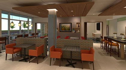 Restaurant | Holiday Inn Express & Suites Forest Hill - Ft. Worth