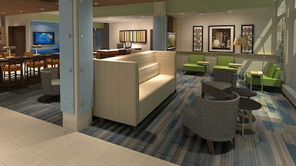 Lobby | Holiday Inn Express & Suites Forest Hill - Ft. Worth