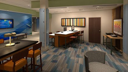 Business Center | Holiday Inn Express & Suites Forest Hill - Ft. Worth