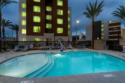Outdoor Pool | TownePlace Suites by Marriott Las Vegas City Center