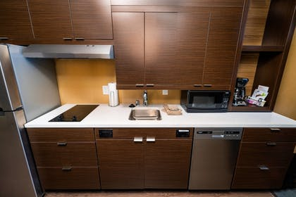 In-Room Kitchen | TownePlace Suites by Marriott Las Vegas City Center