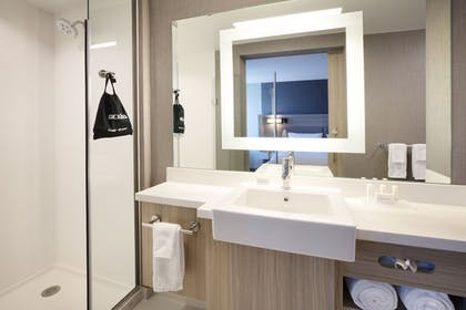 Bathroom Shower | SpringHill Suites by Marriott Hampton Portsmouth