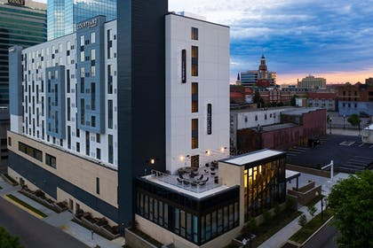 Front of Property - Evening/Night | Residence Inn by Marriott Knoxville Downtown