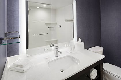 Bathroom | Residence Inn by Marriott Knoxville Downtown