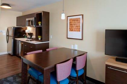 In-Room Kitchen | TownePlace Suites by Marriott Grand Rapids Airport