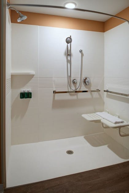 Bathroom | TownePlace Suites by Marriott Grand Rapids Airport