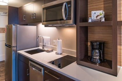 In-Room Kitchen | TownePlace Suites by Marriott Merced