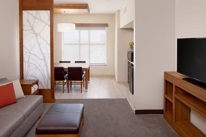 Living Area | Hyatt Place Florence Downtown