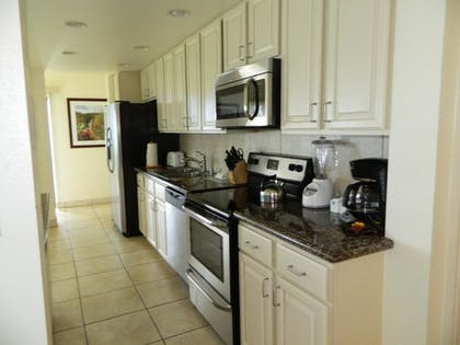 In-Room Kitchen | Suites at Hono Koa