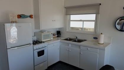 In-Room Kitchen | Sea Horse Resort