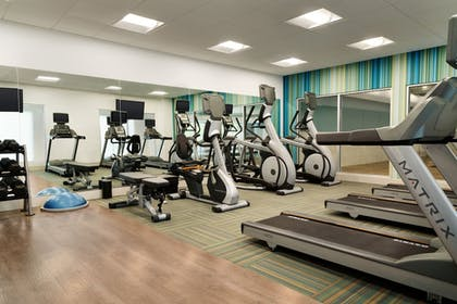 Fitness Facility | Holiday Inn Express & Suites Savannah N - Port Wentworth