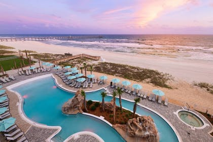 Outdoor Pool | SpringHill Suites by Marriott Panama City Beach Beachfront