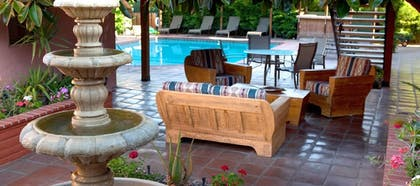 Terrace/Patio | Hotel California