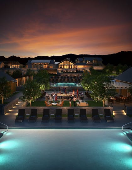 Courtyard | Four Seasons Resort and Residences Napa Valley