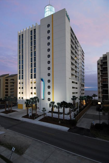 Front of Property - Evening/Night | Seaside Resort by Capital Vacations