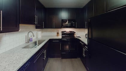In-Room Kitchen | Hollywood Walk of Fame Condos by Barsala