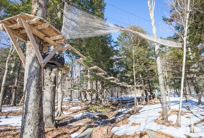 Ropes Course (Team Building) | Smuggler's Notch Resort by Resort Stay