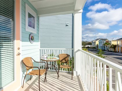 Balcony | Margaritaville Cottages Orlando by VStays