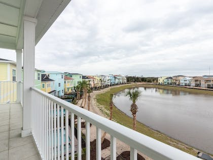 Balcony View | Margaritaville Cottages Orlando by VStays
