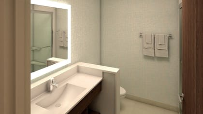 Bathroom | Holiday Inn Express & Suites Wentzville St Louis West