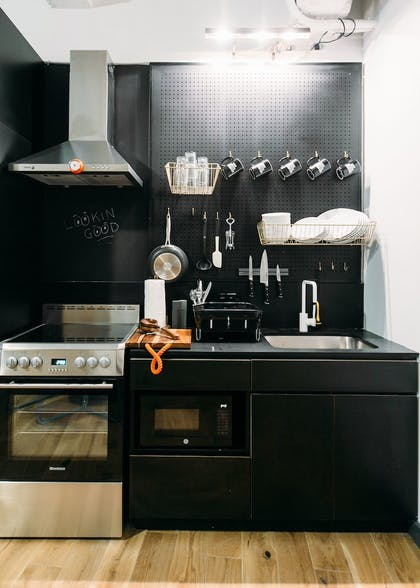 In-Room Kitchen | WeLive Wall Street