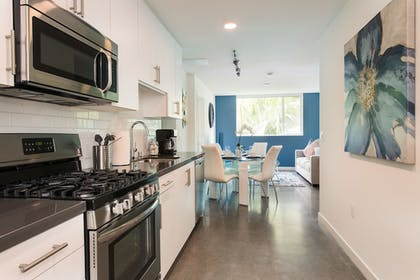Private Kitchen | Downtown LA Luxury Two Bedroom Apartment