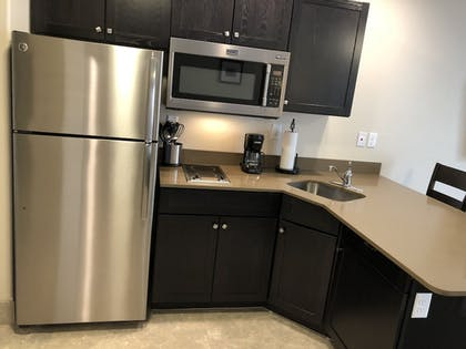 In-Room Kitchenette | Independence Stay