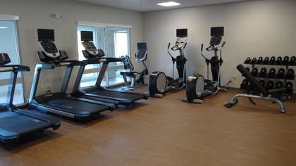 Fitness Facility | Holiday Inn Express & Suites Auburn Downtown