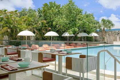 Breakfast Area | AxelBeach Miami South Beach – Adults Only