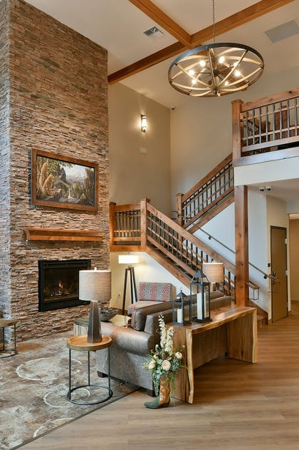 Staircase | GrandStay Hotel & Suites