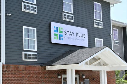 Front of Property | Stay Plus Extended Stay Suites
