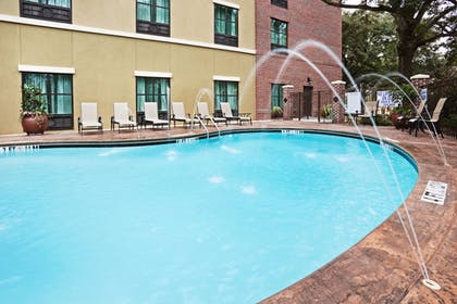 Pool | Holiday Inn Express & Suites Mt. Pleasant