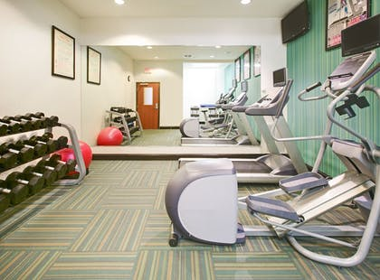 Fitness Facility | Holiday Inn Express & Suites Denton UNT- TWU