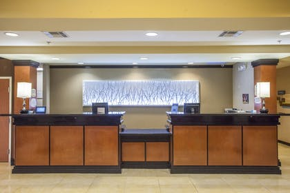 Reception | Fairfield Inn & Suites by Marriott Channelview
