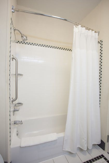 Bathroom Shower | Fairfield Inn & Suites by Marriott Channelview