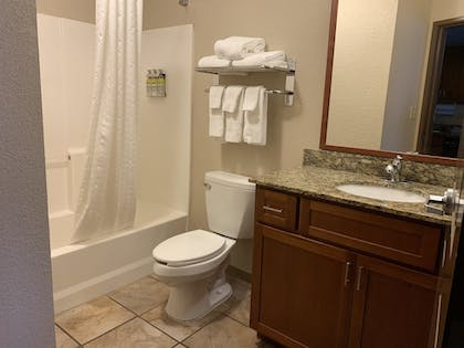 Bathroom | Candlewood Suites Jonesboro