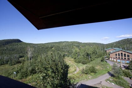 View from Hotel | Eagle Ridge Resort at Lutsen Mountains