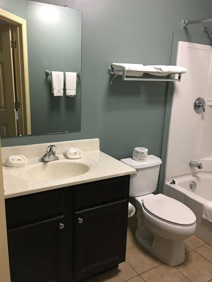 Bathroom | Suburban Extended Stay Hotel Camp Lejeune