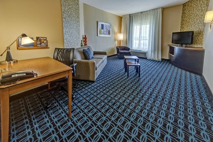 Living Room | Fairfield Inn & Suites Oklahoma City Airport