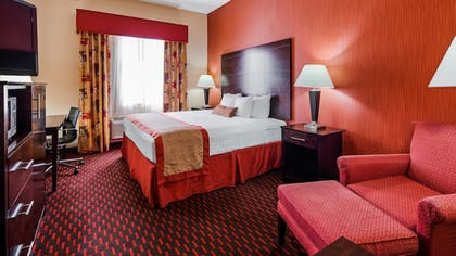 Guestroom | Best Western Plus Flowood Inn & Suites