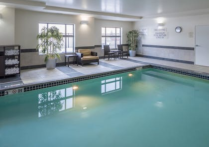 Indoor Pool   Fairfield Inn & Suites by Marriott South Bend at Notre Dame