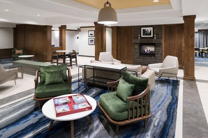 Lobby Sitting Area   Fairfield Inn & Suites by Marriott South Bend at Notre Dame
