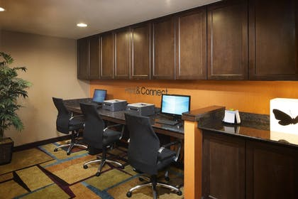Business Center | Fairfield Inn & Suites Houston Intercontinental Airport