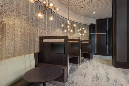Hotel Lounge | Courtyard by Marriott Greenville Downtown