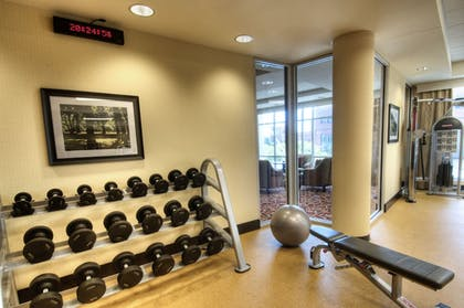 Gym | Courtyard by Marriott Greenville Downtown