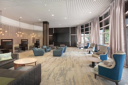 Lobby | Courtyard by Marriott Greenville Downtown