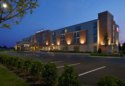 Hotel Front - Evening/Night | SpringHill Suites by Marriott Ewing Princeton South