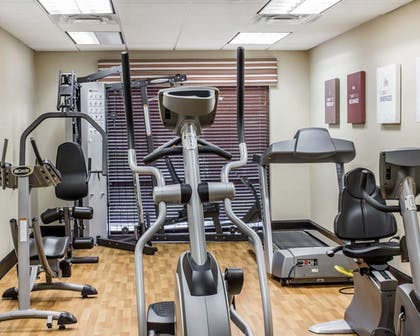 Fitness Facility | Comfort Suites Wilson I-95