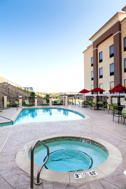 Outdoor Spa Tub | Hampton Inn & Suites Tulsa/Tulsa Hills